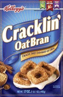 Cracklin' Oat Bran on Random Best Bran Cereal