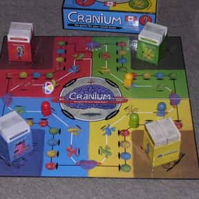 Cranium is listed (or ranked) 18 on the list The Best Board Games for Parties
