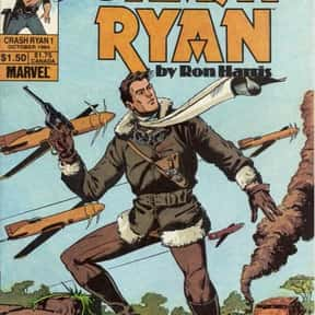 Crash Ryan is listed (or ranked) 6 on the list Famous Epic Comics Titles