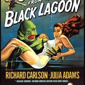 Creature from the Black Lagoon is listed (or ranked) 10 on the list The Best Sci-Fi Movies of the 1950s