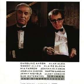 Crimes and Misdemeanors is listed (or ranked) 3 on the list The Best Woody Allen Movies