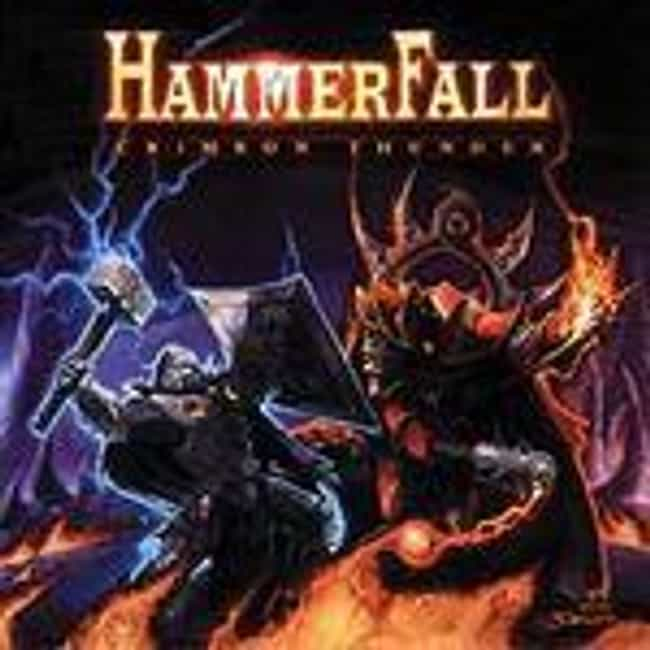Crimson Thunder is listed (or ranked) 3 on the list The Best HammerFall Albums of All Time