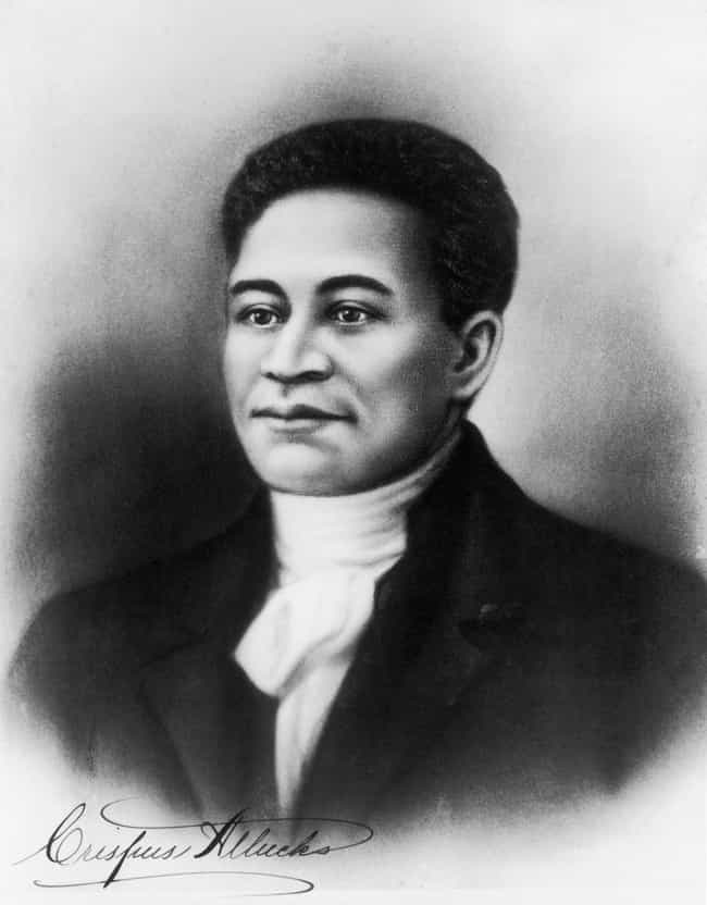 Crispus Attucks: A Hero ... is listed (or ranked) 2 on the list Famous Male Stevedores