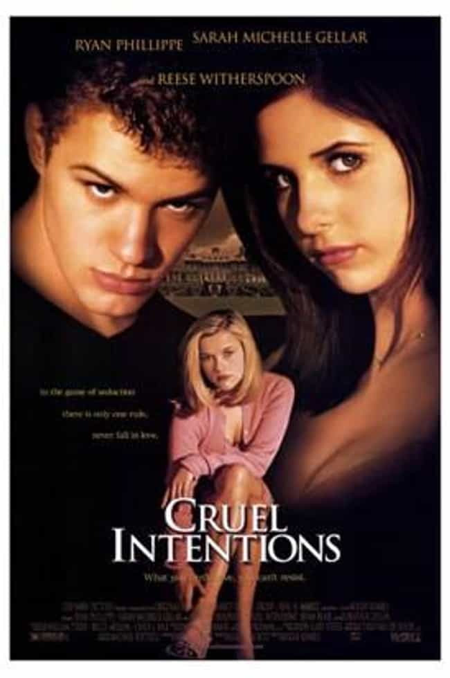 Cruel Intentions is listed (or ranked) 3 on the list The Top Movies That Will Get You Laid