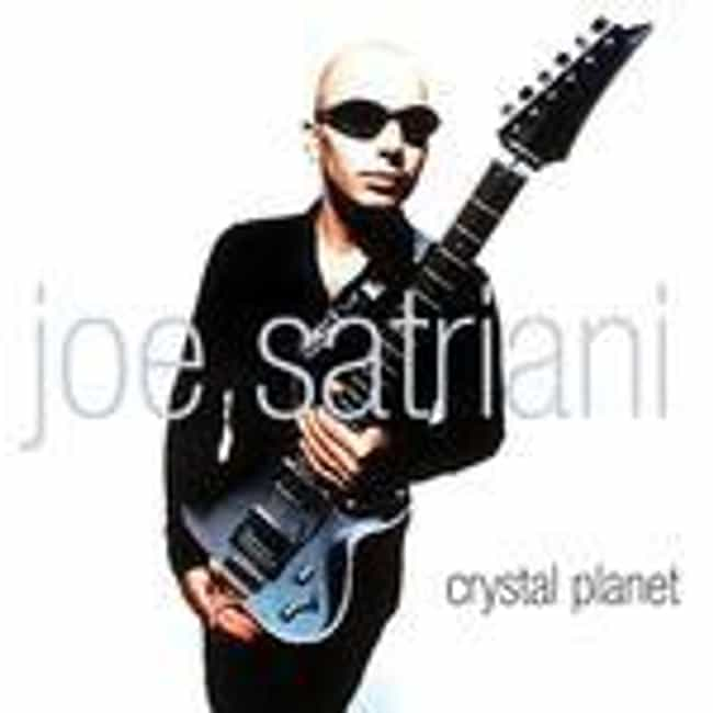 Crystal Planet is listed (or ranked) 3 on the list The Best Joe Satriani Albums of All Time
