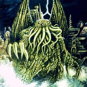 Cthulhu is listed (or ranked) 10 on the list The Fictional Monsters You'd Least Like to Have After You