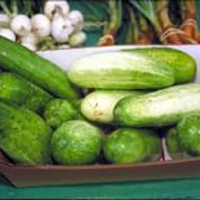 Cucumber is listed (or ranked) 7 on the list The Tastiest Vegetables Everyone Loves Eating