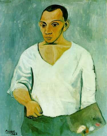 Autoportrait à la palette