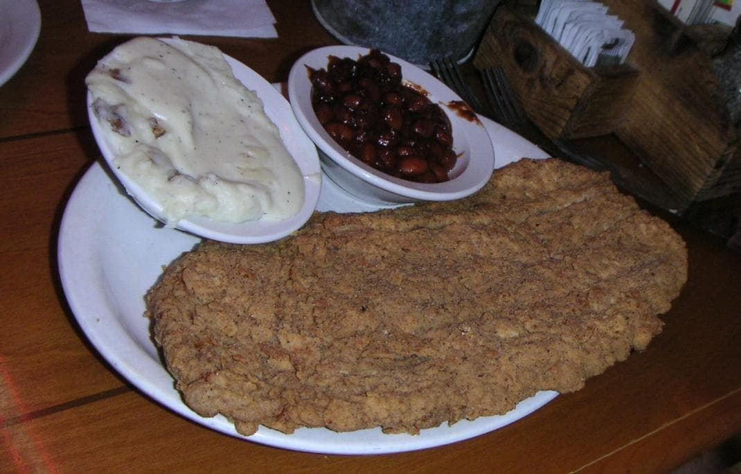 Chicken fried steak on Random Most Delicious Foods to Dunk of Deep Fry