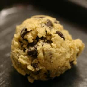 Cookie dough is listed (or ranked) 4 on the list The Best Ice Cream Toppings