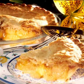 Pie is listed (or ranked) 12 on the list The Most Delicious Kinds Of Dessert