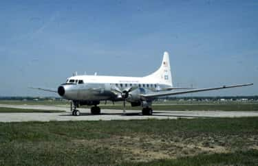 Convair C-131 Samaritan is listed (or ranked) 2 on the list Convair Airplanes and Aircrafts