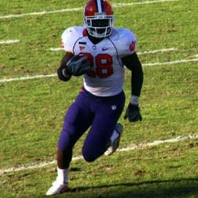 C. J. Spiller is listed (or ranked) 2 on the list The Best Clemson Tigers Running Backs of All Time