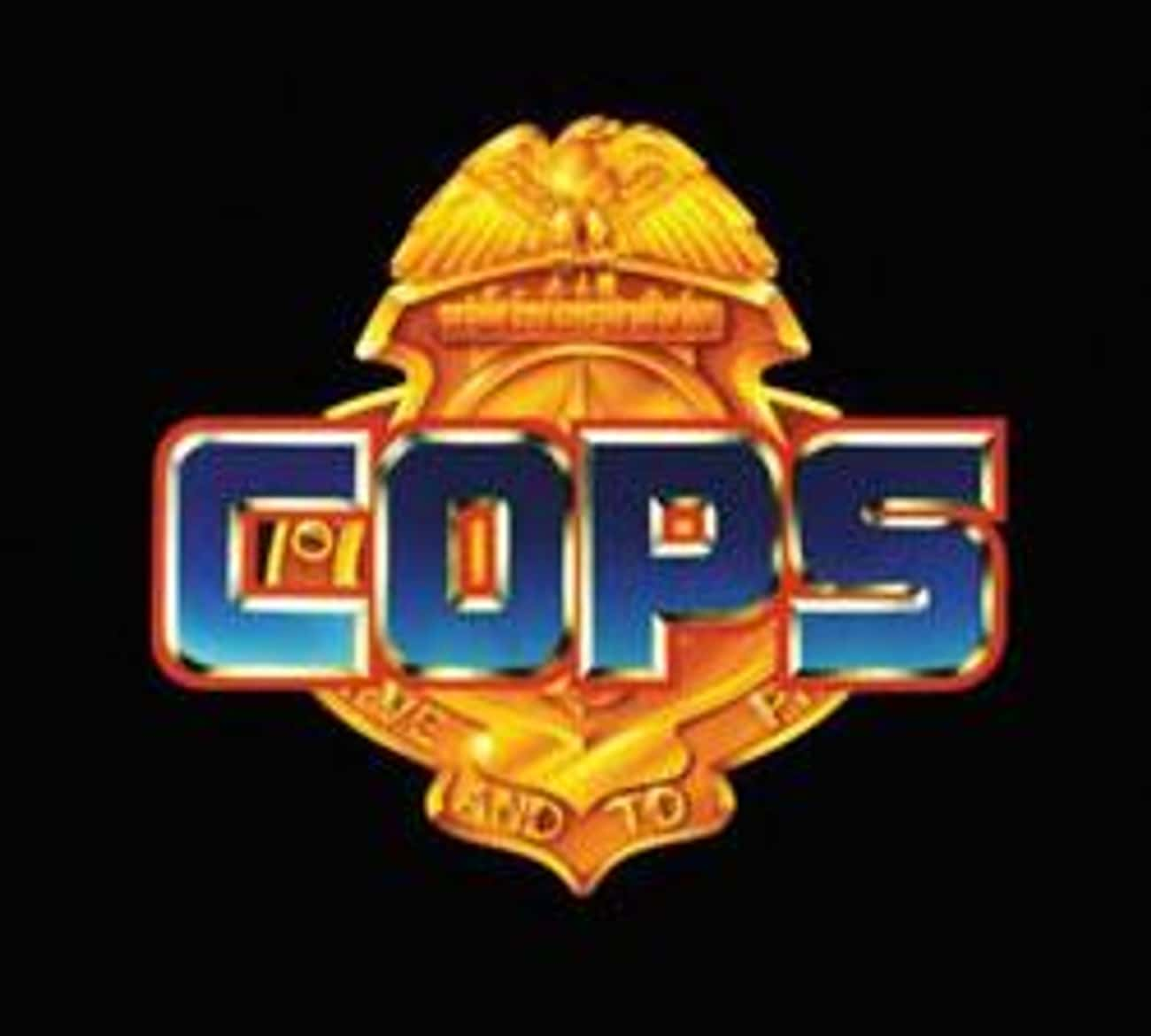 C.O.P.S. is listed (or ranked) 1 on the list Hasbro Shows and TV Series