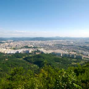 Daejeon is listed (or ranked) 23 on the list List of World's Fair Locations and World Expo Host Cities