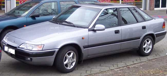 Daewoo Espero is listed (or ranked) 6 on the list Full List of Daewoo Models