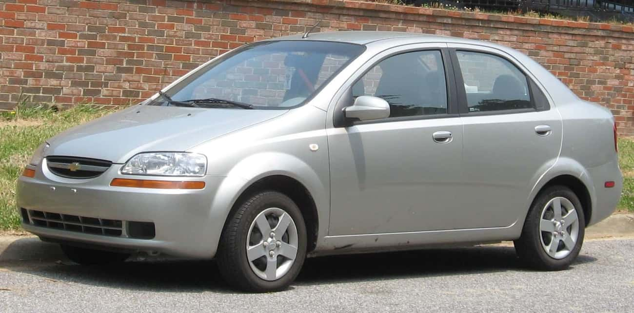 Chevrolet Aveo (T200) is listed (or ranked) 2 on the list Full List of Daewoo Models