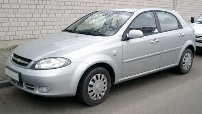 Daewoo Lacetti is listed (or ranked) 5 on the list Full List of Daewoo Models