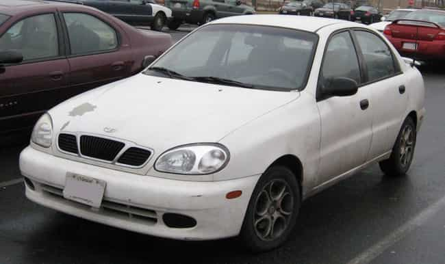 Daewoo Lanos is listed (or ranked) 7 on the list Full List of Daewoo Models