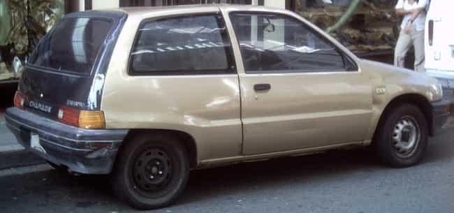 Daihatsu Charade is listed (or ranked) 2 on the list Full List of Daihatsu Motor Company Models