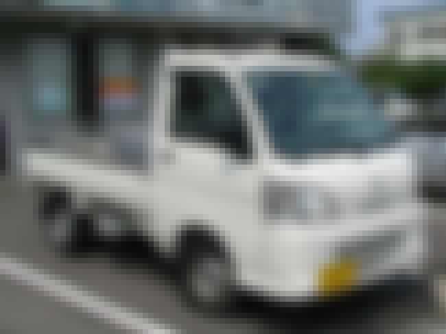 Daihatsu Hijet is listed (or ranked) 6 on the list Full List of Daihatsu Motor Company Models