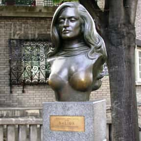 Dalida is listed (or ranked) 14 on the list Popular Film Actors from Egypt