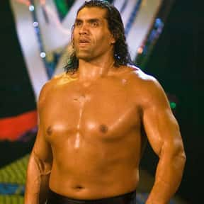 """The Great Khali"" Dalip Singh is listed (or ranked) 1 on the list The Most Overrated Wrestlers of All Time"