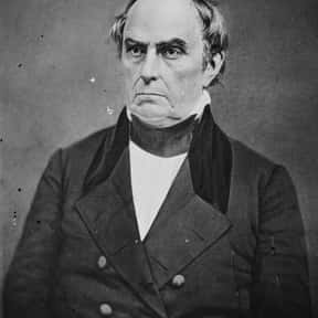 Daniel Webster is listed (or ranked) 11 on the list List of Famous Orators