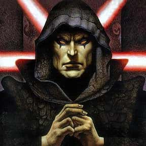 Darth Bane is listed (or ranked) 13 on the list Which Star Wars Characters Deserve Spinoff Movies?
