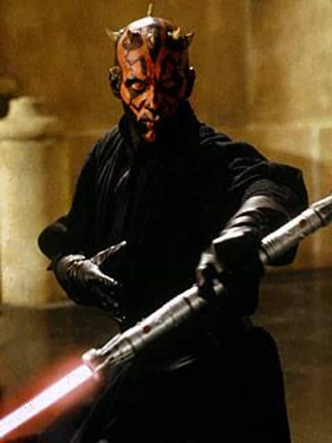 Darth Maul is listed (or ranked) 4 on the list The Best Sith In The 'Star Wars' Universe