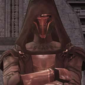 Revan is listed (or ranked) 7 on the list Which Star Wars Characters Deserve Spinoff Movies?