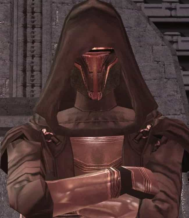 Revan is listed (or ranked) 2 on the list 20 Powerful Jedi Who Broke Bad And Turned To The Dark Side