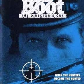 Das Boot is listed (or ranked) 15 on the list The Best Military Movies Ever Made