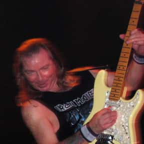 Dave Murray is listed (or ranked) 24 on the list Famous Guitarists from England