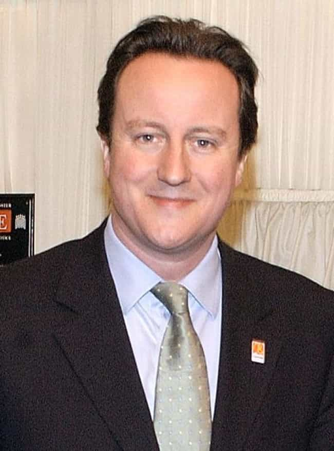 David Cameron is listed (or ranked) 4 on the list List of Famous Prime Ministers