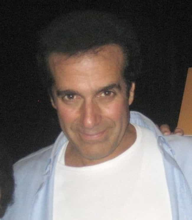 David Copperfield is listed (or ranked) 2 on the list Men Who Sarah Miles Has Dated
