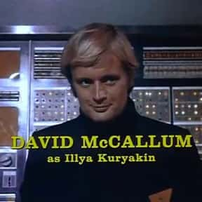 David McCallum is listed (or ranked) 12 on the list Famous TV Actors from Scotland