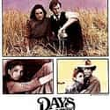 Days of Heaven is listed (or ranked) 23 on the list The Best '70s Romance Movies