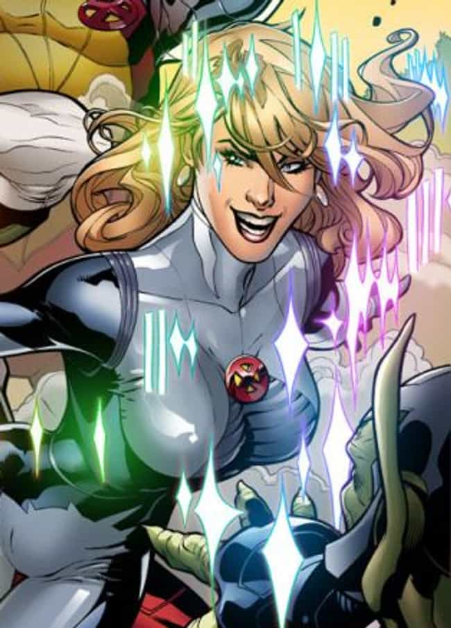 Dazzler is listed (or ranked) 1 on the list Gayest Costumes in Comic Book History