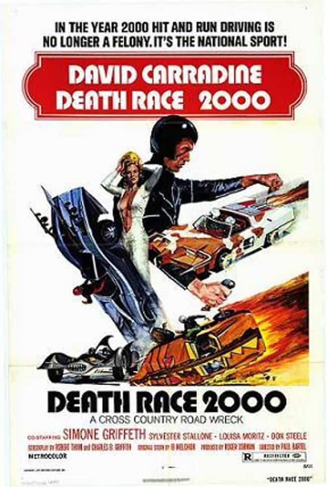Death Race 2000 is listed (or ranked) 3 on the list The 6 Greatest Movies Where People Need To Fight To The Death To Stay Alive