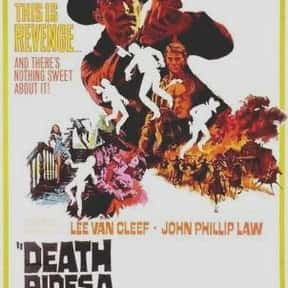 Death Rides a Horse is listed (or ranked) 17 on the list The Best Western Movies on Amazon Prime