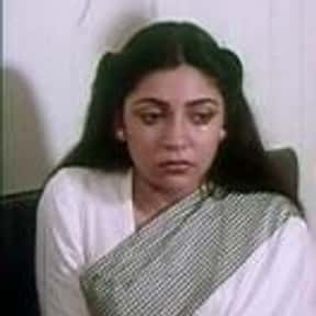 Deepti Naval is listed (or ranked) 7 on the list Full Cast of Ankahee Actors/Actresses