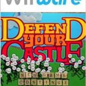 Defend Your Castle is listed (or ranked) 6 on the list The Best Wii Arcade Games