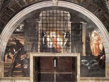 Deliverance of Saint Peter is listed (or ranked) 2 on the list The Greatest Works Art About Saint Peter