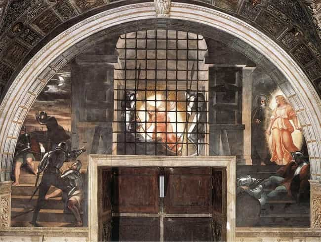 Deliverance of Saint Peter is listed (or ranked) 2 on the list Famous Saint Peter Art