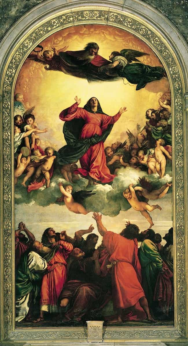 Assumption of the Virgin... is listed (or ranked) 3 on the list Famous Titian Paintings