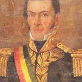 José Miguel de Velasco Franco is listed (or ranked) 16 on the list Famous People From Bolivia