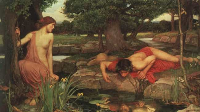 Echo and Narcissus is listed (or ranked) 1 on the list Famous Narcissus Art