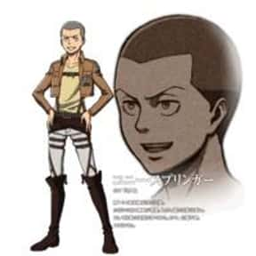 Connie Springer is listed (or ranked) 9 on the list The Best Attack on Titan Characters