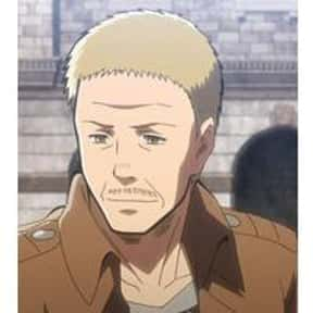 Hannes is listed (or ranked) 10 on the list The Best Attack on Titan Characters